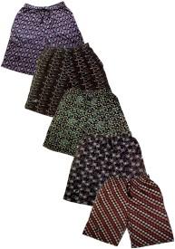 Afro Printed Men's Multicolor Bermuda Shorts
