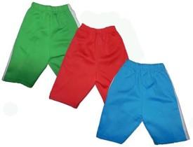 nidhi Striped Boy's Multicolor Bermuda Shorts