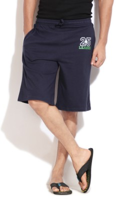 Hanes Hanes Solid Men's Shorts (Blue)