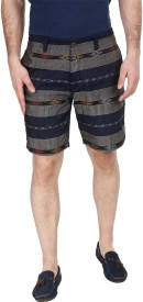 Zobello Printed Men's Chino Shorts