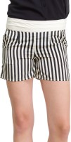 Oxolloxo Striped Women's Basic Shorts