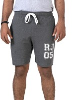 Radio Jockey Solid Men's Basic Shorts - SRTEF3XAYMHNUVWK
