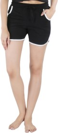 Nite Flite Solid Women's Night Shorts