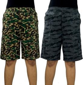 Zoomenterprises Printed Men's Bermuda Shorts