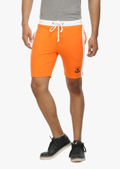 Wear Your Mind Solid Men's Sports Shorts