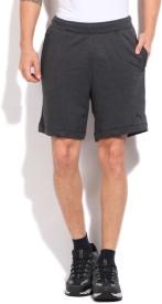 Puma Solid Men's Grey Basic Shorts