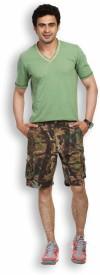 Fast N Fashion Printed Men's Cargo Shorts