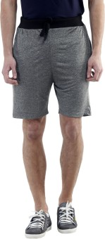 Meebaw Self Design Men's Grey, Grey, Grey, Grey, Grey Sports Shorts