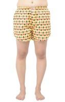 TeesTadka Printed Women's Boxer Shorts - SRTEFR4XZCDYHVPH