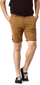 Basics Solid Men's Basic Shorts