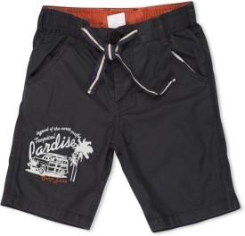 Max Solid Boy's Basic Shorts