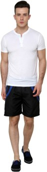 NU9 2043 Solid Men's Basic Shorts