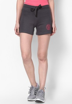 Ajile By Pantaloons Solid Women's Gym Shorts
