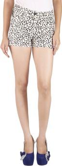 Tequila Shorts Printed Women's High Waist Shorts - SRTE94PQRSMCHFER