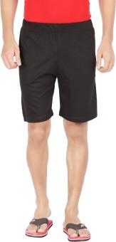 Dk Clues Solid Men's Basic Shorts