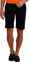 Blue77 Graphic Print, Animal Print, Printed Men's Black Basic Shorts, Chino Shorts, Hotpants
