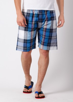 Hanes Hanes Checkered Men's Shorts (Multicolor)