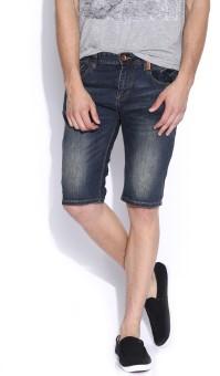 Superdry Solid Men's Denim Shorts - SRTEAEJSTRXMPTTY