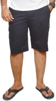 Maharaja Knee Length 100% Cotton Pants Solid Men's Bermuda Shorts