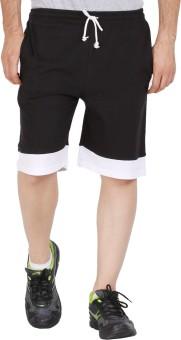 Checkersbay JACK24 DD-BL Solid Men's Sports Shorts
