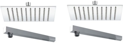 RIPPLES 4X4 ULTRA WITH 9 INCH SQUARE ARM(SET OF 2) Shower Head