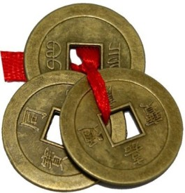Kraftivity Feng Shui Chinese Lucky Coins for Wealth,Prosperity & Success Showpiece - 2.5 cm