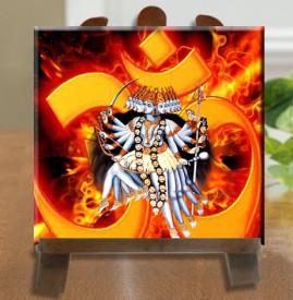 Tiedribbons Maa Khappar Wali Tile Showpiece  -  26 cm