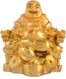 AapnoCrafts Premium Fengshui Laughing Buddha Showpiece - 10.16 cm