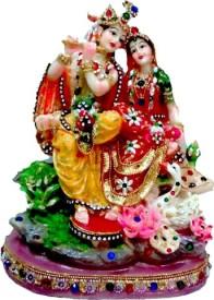 UT Handicraft Decorative Radha Krishna Idols Showpiece  -  26 cm