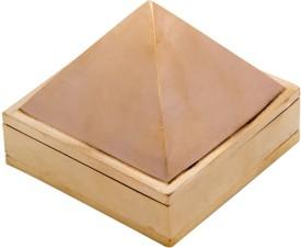 Yak International Brass Pyramid For Good Energy/Gift Showpiece  -