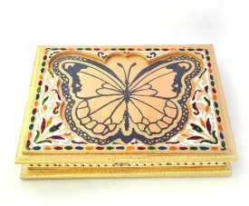 Kiran Udyog Wooden Decorative Platter