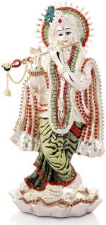 Episode Silver Plated Krishna On Lotus