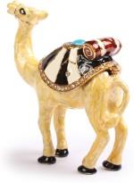 Something Special Goloden Meena Work Jewel Case Camel