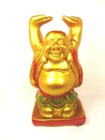 Artycrafts Laughing Buddha Showpiece  -  21 cm