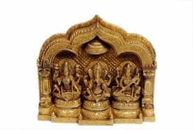 StatueStudio Mini Temple Ganesha, Lakshmi, Saraswati 9