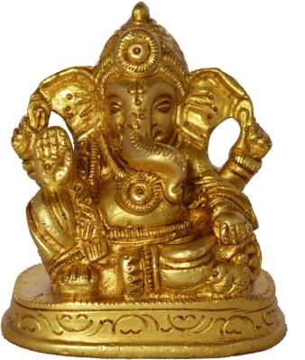Aakrati Lord Ganesha Sitting on a Throne