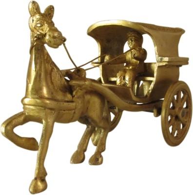 Galaxy Brass Horse Cart