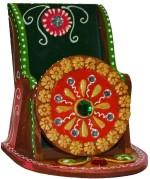 eCraftIndia Papier Mache Kundan Mobile Holder