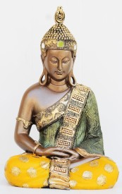 SR Crafts SR Crafts Beautiful Antique Meditating Buddha Showpiece Showpiece  -  33 cm