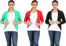 Orange And Orchid Women's Shrug - RUGEHHZCBSTVEAW5