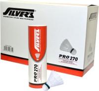 Silver's Pro-270 Nylon Shuttle  - White (Slow, 75, Pack Of 60)