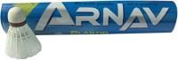 Arnav A1 Plastic Shuttle  - White (Medium, 77, Pack Of 10)