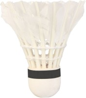 Mrb Idea Power Feather Shuttle  - White (Medium, 77, Pack Of 10)