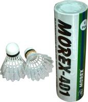Morex 401 Nylon Shuttle - White (Medium, 77, Pack Of 6)