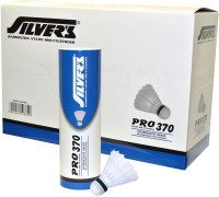 Silver's Pro-370 Nylon Shuttle  - White (Slow, 75, Pack Of 60)
