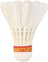 Mrb Idea Champion Ship Feather Shuttle  - White (Medium, 77, Pack Of 10)