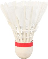 Mrb Idea Lanser Feather Shuttle  - White (Medium, 77, Pack Of 10)