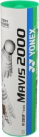 Yonex Mavis 2000 Nylon Shuttle  - White (Medium, 72, Pack Of 6)
