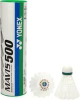 Yonex Mavis 500 Plastic Shuttle - White: Shuttle