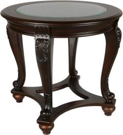 HomeTown Chrysler Solid Wood Side Table